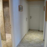 couloir et douche italienne