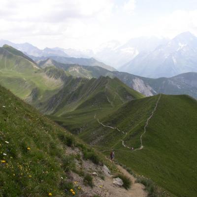 la montagne l'été