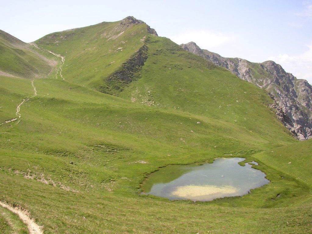 en route vers le Mont Jovet